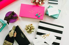 Holiday Gift Ideas From KATE SPADE NEW YORK / Glitter Guide / Photo by Delbarr Moradi