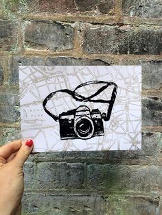 Lovely vintage background for our iconic CAMERA. You will see the streets of central London around our vintage camera print. The map I used dates back to 1897 but is printed in a pop metallic contemporary colour! Map Background, Background Vintage, London Map, Vintage London, Bubble Envelopes, All Print, Screen Printing, Prints, Art