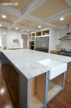 Beautiful Andino White Granite Countertops