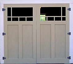 Great blog on building your own traditional carriage style garage doors. This was very interesting read.