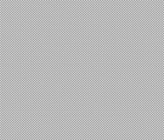 mini polka dots 2 grey and white fabric by misstiina on Spoonflower - custom fabric