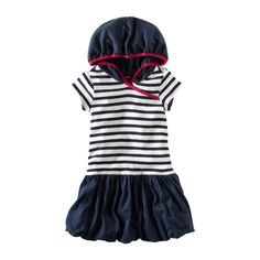 Part of our special 10th anniversary collection. The Kasato Stripe Dress  first debuted in Destination: Brazil in Spring 2009. It has a nautical flavor and is named for the steamer ship that brought Japanese immigrants to Brazil in 1908.
