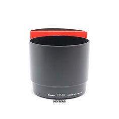 The #Canon ET-67 #Lens Hood (Canon 100mm f2.8) is a very nice Lens Hood. Canon 100mm, Lens, Used Cameras, Camera Equipment, Nice, Klance, Nice France, Lentils