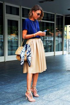 44 stunning casual work outfit for summer fashion 3 летняя одежда, одежда, Top Fashion, Long Skirt Fashion, Fashion Mode, Fashion Week, Fashion Outfits, Woman Outfits, Spring Fashion, Fashion 2018, Petite Fashion