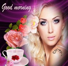 Joelle, Good Morning Images, Beautiful Pictures, Maya, Roses, Drawings, Pretty, Love, Good Morning