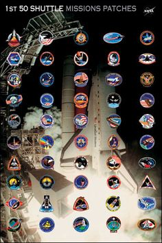 nasa patches poster - photo #17