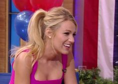 """Blake making an appearance on """"LIVE! with Kelly"""""""