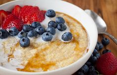 Tired of the same old oatmeal breakfast? These warm whole-grain breakfast recipes mix things up using unexpected grains like amaranth, quinoa and buckwheat.