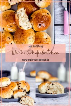Soft chocolate bun recipe - Here& a quick, easy recipe for soft chocolate buns made from yeast dough # yeast dough - Chocolate Bun Recipe, Chocolate Brioche, Healthy Food List, Healthy Eating Tips, Nutritional Yeast Recipes, Brioche Recipe, Smoothie Recipes With Yogurt, Vegetable Drinks, Snacks