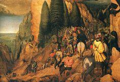 Conversion of St. Paul - Pieter Bruegel the Elder