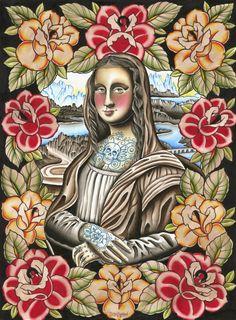 Mona Lisa Nouveau [Brent Wilson] (Gioconda / Mona Lisa)