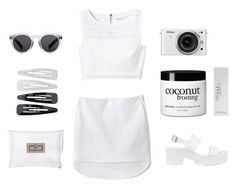 """Minimalist - Set Thirty-Three"" by krainem ❤ liked on Polyvore featuring Rebecca Taylor, 3.1 Phillip Lim, River Island, Nikon, NARS Cosmetics, philosophy, CC SKYE, Illesteva, Forever 21 and minimal"