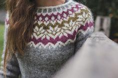 afmaeli sweater – RDP Knits Fair Isle Knitting Patterns, Sweater Knitting Patterns, Baby Knitting, Norwegian Knitting, Long Sweaters For Women, Icelandic Sweaters, Nordic Sweater, Knitting Projects, Knitted Hats