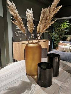 Table decoration. Pampas Grass. Filmed by Mauritz Interior & Design at Bohus Bodo Norway. Bodo, Pampas Grass, Norway, Diffuser, Table Decorations, Interior Design, Nest Design, Feather Reed Grass, Home Interior Design