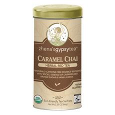 I am obsessed with this tea!    Caramel Chai Red Tea