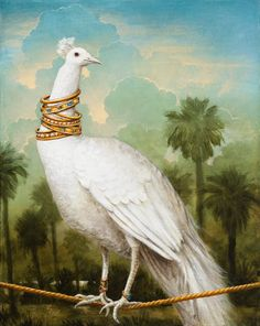 "Kevin Sloan | ACRYLIC | ""The GIlded Lily"""