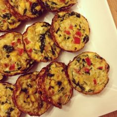 I Don't Go to the Gym: Mexican Egg White Morning Muffins