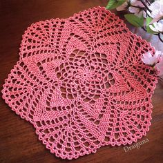 """Starlight        This doily is 19 rounds and measures about 10""""   Materials    1300 yd ball ofsize 10 thread  1.75mm hook    Special Stit..."""
