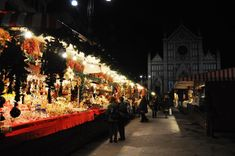 Florence Christmas market in December