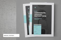 다음 @Behance 프로젝트 확인: \u201cCorporate Annual Report\u201d https://www.behance.net/gallery/44741581/Corporate-Annual-Report