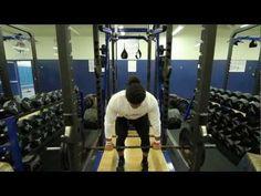 Linebacker Benches 225 lbs 39 Times!Jordan Campbell NFL Draft '13