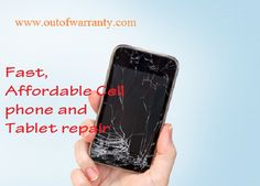 If you are frequently on the mobile phones than there are chances of mobile damage also. Visit Out of Warranty to get your cell phone repaired at very reasonable price. It's an exclusive cell phone repair shop where you can get services like  smartphone screen repair, water lodging in phones, battery, charging port etc. Visit https://www.outofwarranty.com/