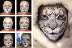 This Irish-born artist just upped the game on face painting and FX makeup.