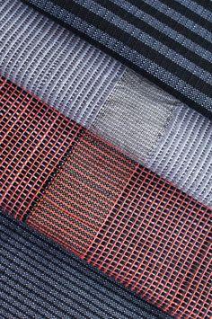 Seersucker & Stripes - Anna Piper - MA Textile Design Innovation student at Nottingham Trent University