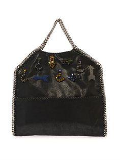 Falabella small three-chain bag | Stella McCartney | MATCHESFA...