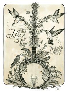 Music. is. Medicine. @ Love Hawk Tattoo Studio