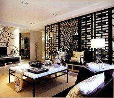 Chinese Room Divider Screens, Oriental