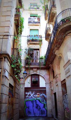 Carrer+de+Rauric Barcelona España
