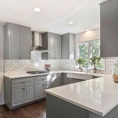 Grey Kitchen Cabinets (13)