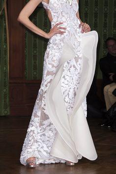 Oscar Carvallo spring 2013 couture details