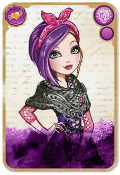 Poppy O'Hair™ :: Daughter of Rapunzel, younger twin sister of Holly O'Hair. In the web episode Poppy the Rebel she flips the scrip and chooses both sides Royal and Rebel! I love how original the Ever After High characters are. Poppy is the most original one so far, everyone else is pretty much super close to their parents. Except Raven of course but she takes after her dad the good king. - poem