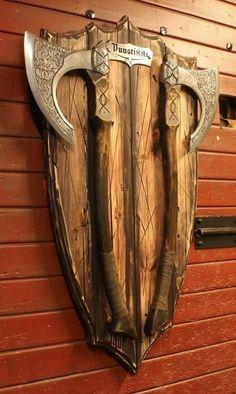 Viking Axe, Runes, Blacksmithing, Finland, Firewood, Vikings, Weapons, Scandinavian, Wolf