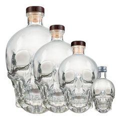 Crystal Head Vodka Ultra-Premium + Coffret Double CD 70 cl: Canada ...