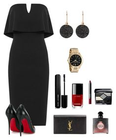 """""""Untitled #85"""" by keyshia16 on Polyvore featuring WearAll, Christian Louboutin, Yves Saint Laurent, Marc Jacobs, Chanel, NARS Cosmetics, Christian Dior and Astley Clarke"""