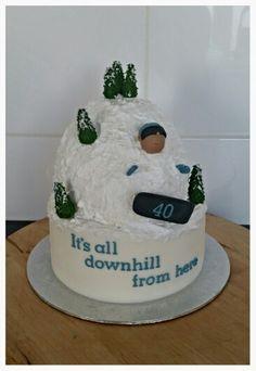 Snowboardcake
