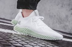 The next iteration of arrives tomorrow. Will you be copping the adidas Alphaedge in White? For details on where you can buy, tap the link in our bio. Comfort Design, Latest Sneakers, Futuristic Design, Grey Fabric, Sportswear Brand, Adidas Logo, Behind The Scenes, Adidas Sneakers, Footwear