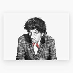 Bob Dylan by ARTIITII - Bob Dylan has been a mainstay of popular music and rock n' roll for over five decades | MONOQI