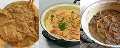 Rendang (Indonesisch stoofvlees) Hummus, Asian, Dinner, Ethnic Recipes, Om, Indian, Dining, Food Dinners, Dinners