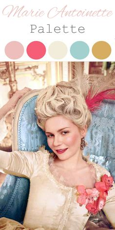 Marie Antoinette Themed Party - Colors Inspirations