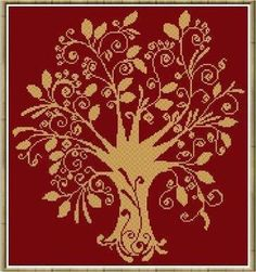 Alessandra Adelaide Cross Stitch Patterns Page 2 Cross Stitch Tree, Cross Stitch Charts, Cross Stitch Designs, Cross Stitch Patterns, Needlework, Crafty, Embroidery, Knitting, Crochet