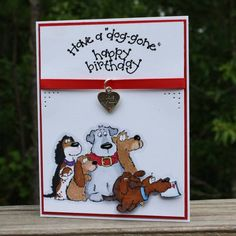 Another Dog Gone Birthday! - another good saying for dog image cards
