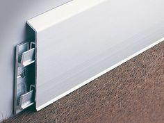 Interlocking aluminium skirting board BI | Skirting board - PROFILITEC