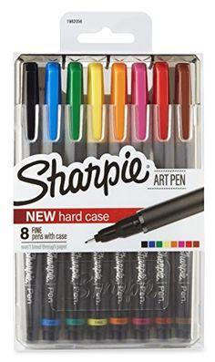 Sharpie Art Pens, Fine Point, Assorted Colors, Hard Case,... https://www.amazon.com/dp/B01KLLQR40/ref=cm_sw_r_pi_dp_x_sK2lybXX3PKFD