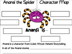 Anansi The Spider Art Projects