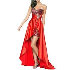 646059b8ea6 Your Gallery Women s Sequin Front Short Long Back Prom Party Dress Evening  Want Customized Size Gown Large Red. Online Dress ShoppingSchickWomen s ...