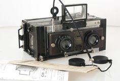 Stereo Camera type LE MONOBLOC van Jeanneret & Cie Paris (6x13)